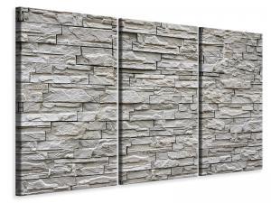 Ljuddämpande tavla - Stone wall design - SilentSwede