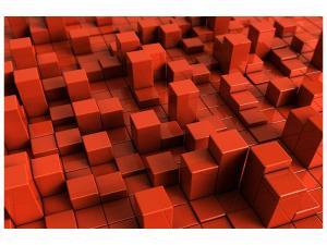 Ljudabsorberande tavla-3D Square - SilentSwede