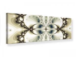 Ljudabsorberande panorama tavla - Abstract Butterfly - SilentSwede