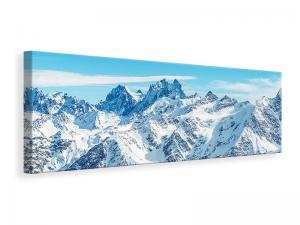Ljuddämpande tavla - Alpine Panorama - SilentSwede