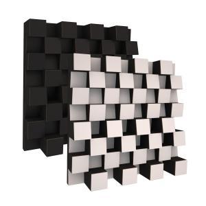 Ljudabsorbent vägg - SilentSwede® Angle - SilentSwede