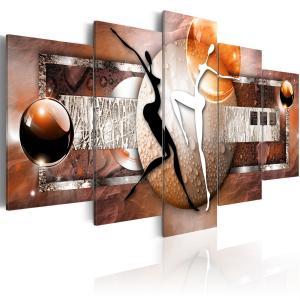 Ljuddämpande tavla - Dance of elements: earth - SilentSwede