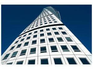 Ljudabsorberande tavla - Masterpiece Skyscraper - SilentSwede