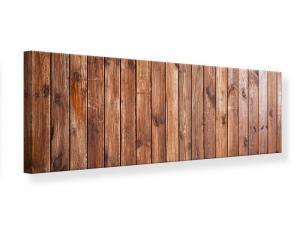 Ljudabsorberande panorama tavla - Noble Wood - SilentSwede