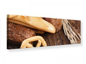 Ljudabsorberande panorama tavla - Bread And Pretzel - SilentSwede