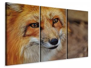 Ljuddämpande tavla - The fox - SilentSwede