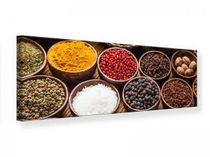 Ljudabsorberande panorama tavla - Hot Spices - SilentSwede