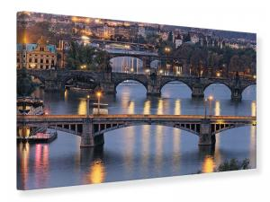 Ljudabsorberande tavla - Bridges In Prague - SilentSwede