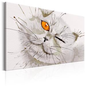 Ljuddämpande tavla - Grey Cat - SilentSwede