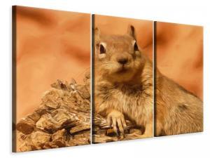 Ljuddämpande tavla - Sweet squirrel - SilentSwede