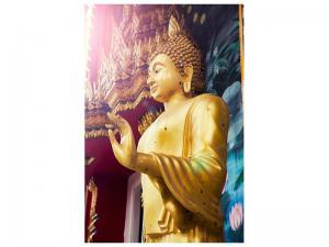 Ljudabsorberande tavla-Buddha Sculpture - SilentSwede