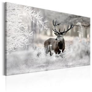 Ljuddämpande & ljudabsorberande tavla - Lonely Deer - SilentSwede