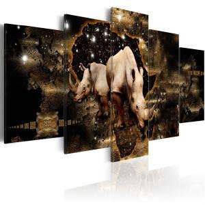 Ljuddämpande tavla - Golden Rhino - SilentSwede