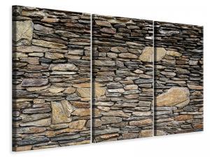 Ljuddämpande tavla - Stone construction art - SilentSwede