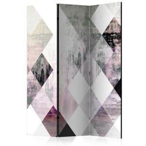 Rumsavdelare - Rhombic Chessboard (Pink) - SilentSwede