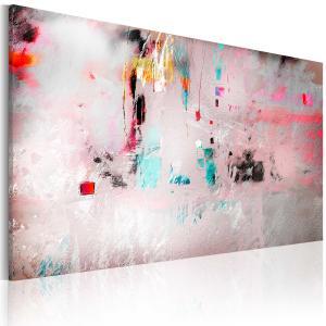 Ljuddämpande tavla - Spontaneity - abstraction - SilentSwede