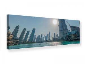 Ljudabsorberande panorama tavla - Skyscraper Architecture Dubai - SilentSwede