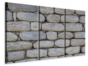 Ljuddämpande tavla - Wall of natural stones - SilentSwede