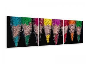 Ljuddämpande tavla - Crayons in the water - SilentSwede