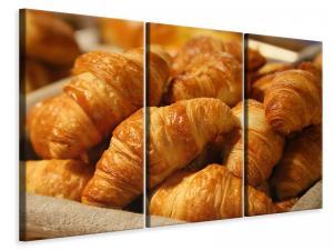Ljuddämpande tavla - Fresh croissants - SilentSwede