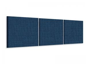 Ljudabsorbent vägg - SilentSwede® Wall - 3-parts Three - SilentSwede