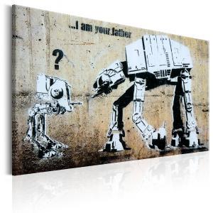 Ljuddämpande & ljudabsorberande tavla - I Am Your Father by Banksy - SilentSwede