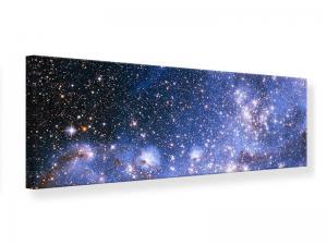 Ljudabsorberande panorama tavla - Starry Sky - SilentSwede