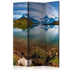 Rumsavdelare - Lake with mountain reflection, Switzerland - SilentSwede
