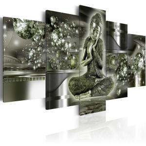 Ljuddämpande tavla - Emerald Budda - SilentSwede