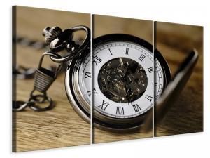 Ljuddämpande tavla - Retro clock - SilentSwede