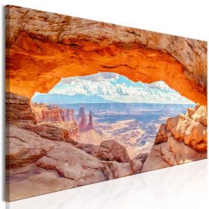 Ljuddämpande & ljudabsorberande tavla - Canyon in Utah - SilentSwede