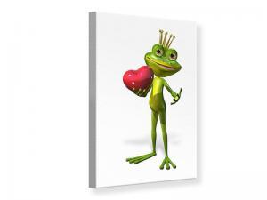 Ljudabsorberande tavla - Frog King - SilentSwede