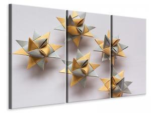 Ljuddämpande tavla - Origami stars - SilentSwede