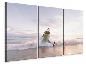 Ljuddämpande tavla - Beware shark - SilentSwede
