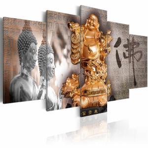 Ljuddämpande tavla - Smile to Buddha! - SilentSwede