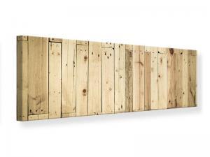 Ljudabsorberande panorama tavla - Wood Panels - SilentSwede
