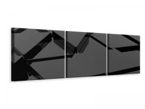 Ljuddämpande tavla - 3D Triangular Surfaces - SilentSwede