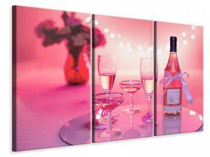 Ljuddämpande tavla - Cheers in pink red - SilentSwede