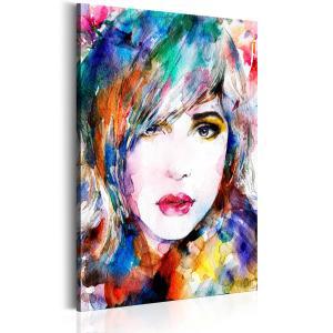 Ljuddämpande tavla - Rainbow Girl - SilentSwede