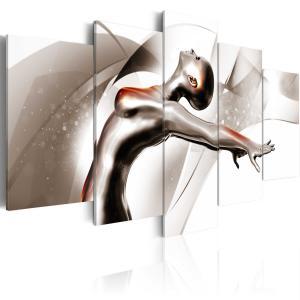 Ljuddämpande tavla - Gold dance: She - SilentSwede