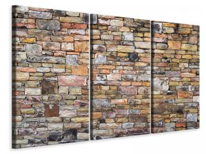 Ljuddämpande tavla - Old stone wall - SilentSwede