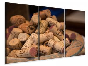 Ljuddämpande tavla - Wine corks xl - SilentSwede