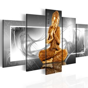 Ljuddämpande tavla - Buddhist prayer - SilentSwede