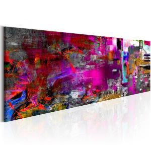 Ljuddämpande & ljudabsorberande tavla - Purple Orangery - SilentSwede