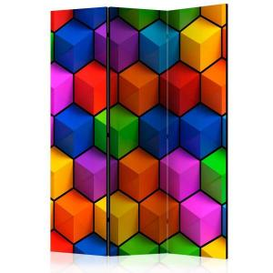Rumsavdelare - Colorful Geometric Boxes - SilentSwede