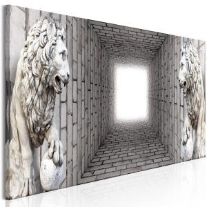 Ljuddämpande tavla - Light in the Tunnel - SilentSwede