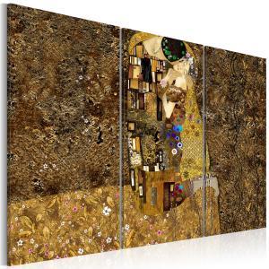 Ljuddämpande tavla - Klimt inspiration - Kiss - SilentSwede