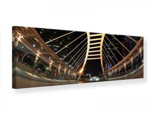 Ljudabsorberande panorama tavla - Avant-Garde Bridge - SilentSwede
