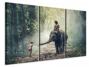 Ljuddämpande tavla - The elephant at work - SilentSwede