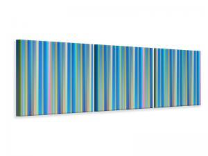 Ljuddämpande tavla - Colored stripes - SilentSwede